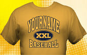 School Baseball Team T-Shirt BBL-1003