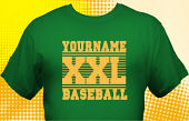 School Baseball Team T-Shirt BBL-1004