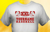 School Baseball Team T-Shirt BBL-1006
