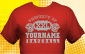 School Baseball Team T-Shirt BBL-1007