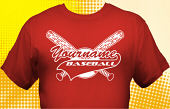 School Baseball Team T-Shirt BBL-1010