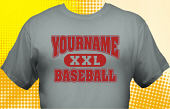 School Baseball Team T-Shirt BBL-1011