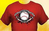 School Baseball Team T-Shirt BBL-2001