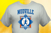 School Baseball Team T-Shirt BBL-2003