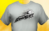 School Baseball Team T-Shirt BBL-3001