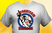 School Baseball Team T-Shirt BBL-4002