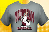 School Baseball Team T-Shirt BBL-4004