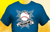 School Baseball Team T-Shirt BBL-4005