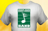 School Band T-Shirt BND-1001