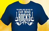 School Band T-Shirt BND-1004