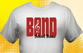 School Band T-Shirt BND-2002