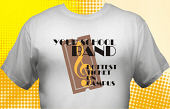 School Band T-Shirt BND-3002