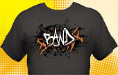 School Band T-Shirt BND-3009