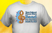 School Band T-Shirt BND-4002