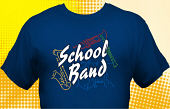 School Band T-Shirt BND-6002