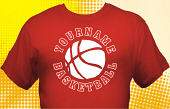 Basketball Team T-Shirt BSK-1004