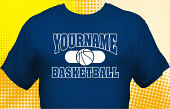 Basketball Team T-Shirt BSK-1005