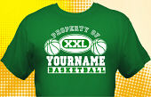 Basketball Team T-Shirt BSK-1007