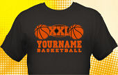 Basketball Team T-Shirt BSK-1010