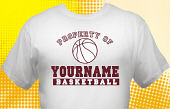 Basketball Team T-Shirt BSK-1011