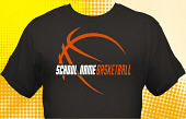 Basketball Team T-Shirt BSK-2003