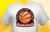Basketball Team T-Shirt BSK-3001