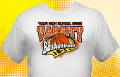 Basketball Team T-Shirt BSK-3003