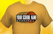 Basketball Team T-Shirt BSK-3005