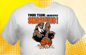 Basketball Team T-Shirt BSK-3006
