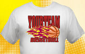 Basketball Team T-Shirt BSK-4001