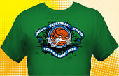 Basketball Team T-Shirt BSK-4002