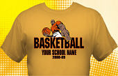 Basketball Team T-Shirt BSK-4007