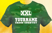 Cross Country Team T-Shirt CCX-1003