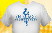 Cross Country Team T-Shirt CCX-1004
