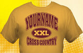 Cross Country Team T-Shirt CCX-1006