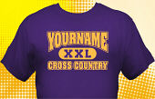 Cross Country Team T-Shirt CCX-1009