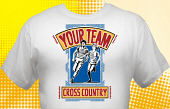 Cross Country Team T-Shirt CCX-4001