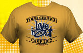 Religious & Church T-Shirt CHA-3009