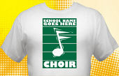 School Choir T-Shirt CHR-1002