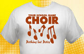 School Choir T-Shirt CHR-1003