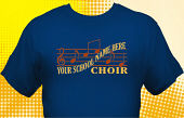 School Choir T-Shirt CHR-2002