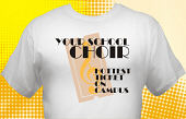 School Choir T-Shirt CHR-3002