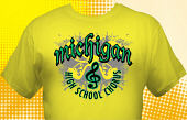 School Choir T-Shirt CHR-3006