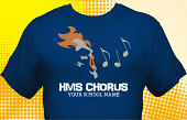 School Choir T-Shirt CHR-3007