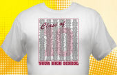School Graduation T-Shirt CL2-2006