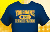 Dance Team T-Shirt DAN-1009