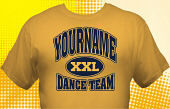 Dance Team T-Shirt DAN-1013