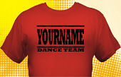 Dance Team T-Shirt DAN-1018