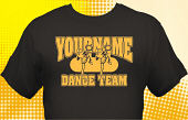 Dance Team T-Shirt DAN-1021