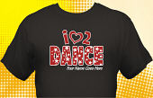 Dance Team T-Shirt DAN-2003